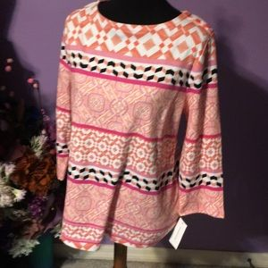 NWT charter one multicolored top. S-L